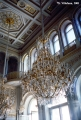 Chandeliers in the Winter Palace in Saint Petersburg