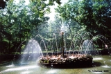 """Sun"" Fountain in the Zoological Gardens at Peterhof"