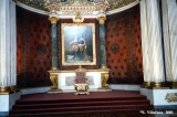 Peter's Hall (Small Throne Hall) in the Winter Palace in Saint Petersburg