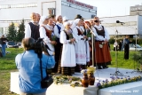 Lithuanians singing at the Jonines midsummer celebrations in Vilnius