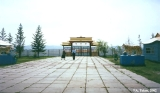 Entrance gate to the dat-san (Buddhist monastery) near Ulan-Ude