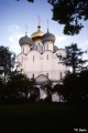 Cathedral of the Virgin of Smolensk in Novodevichy Convent in Moscow