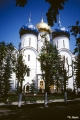 Assumption Cathedral in the Trinity-St. Sergius Monastery, in Sergiyev Posad