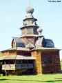 Church of the Transfiguration in the open-air museum of wooden architecture in Suzdal