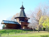 Gate-Tower from Nikolo-Korelsky Monastery exhibited on the Kolomenskoye estate