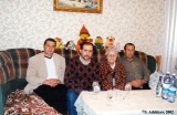 Family reunion in a Karachay home, in Karachayevsk