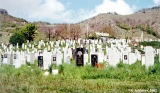 Cemetery in the village of Kamenomost