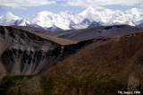 Central Tian Shan Mountains and foreridges