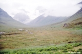 Clearing storm in the upper Karakol Valley