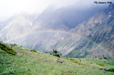Rainbow over the Ortho Chashma Valley
