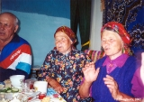 Social gathering in a village of Russian Orthodox Old Believers outside Ulan-Ude