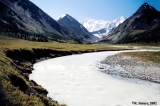 Akkem River and mount Belukha, Altai Mountains