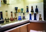 Display of glass in the Vladimir-Suzdal Heritage Museum