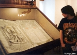 Bible written in Church Slavonic displayed in the Euthymius Monastery in Suzdal