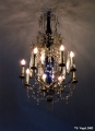 Chandelier  in the Euthymius Monastery in Suzdal