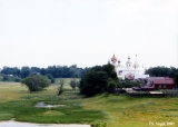 Distant view of the Suzdal Kremlin