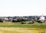 Distant view of Suzdal