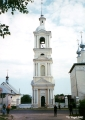 Summer Church of the Virgin of Smolensk (on the right) and the Winter Church of St. Simeon (on the...