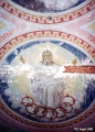 Fresco on a ceiling in a Russian Orthodox church in Suzdal