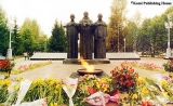 """Millitary Glory,"" a monument in Syktyvkar"