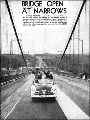 Bridge Open at Narrows, October 15, 1950