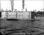 Caisson no. 4, Tacoma Narrows Bridge construction, March 28, 1939