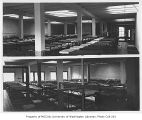 Salvation Army interior showing empty beds, 2nd Avenue South and Main Street, Seattle, ca. 1934