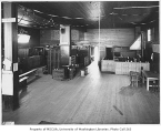 Food bank interior, probably on S.W. Andover Street, West Seattle neighborhood, Seattle, ca. 1934