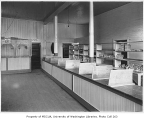 Food bank interior, probably in the Beacon Hill neighborhood of Seattle, ca. 1934