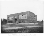 Highland School exterior, King County, March 7, 1935