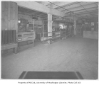 Food bank interior, probably on Elliott Avenue in the Belltown neighborhood of Seattle, ca. 1934
