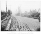 Road construction on Main Street, Tukwila, January 3, 1935