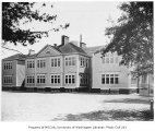 T.T. Minor School exterior after it was painted, Central neighborhood, Seattle, August 14, 1934
