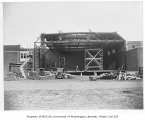 Redmond School renovations during construction, Redmond, August 3, 1934