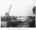 Commercial waterway number two being dredged, Renton, August 30, 1934