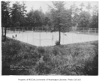 Magnolia Playfield tennis courts, 2518 34th Avenue West, Seattle, August 9, 1934