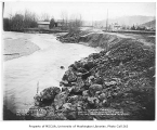 Issaquah Creek flood control work, January 11, 1935