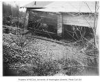 Property damage cause by Swamp Creek overflow near Bothell Highway, Kenmore, December 12, 1934