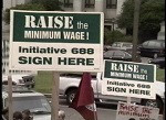 Raise the Minimum Wage:Yes on Initiative 688 Signature Turn in Day 07/02/1998
