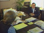 Marv Williams and Larry Kenney Discuss the Washington State Labor Council's Rally 1982 in Olympia,...