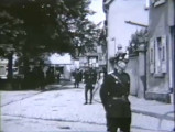 Police patrolling the streets after banks have closed down, Germany, 1931