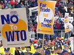AFL-CIO Rally Against the WTO 11/30/1999 Linda Chavez-Thompson and the United Delegatation of...