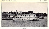 Station of the Bureau of Fisheries at North La Crosse, Wisconsin,and steamer Curlew, used in...