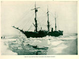 Heavy Ice Prevented Farther Progress North