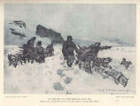 On the Way to Camp Ziegler, May, 1905Sledge Party, Transporting Food from Camp Abruzzi, Nearing...