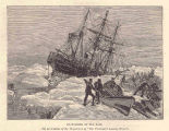 Foundering of the Eira(By permission of the Proprietors of 'The Illustrated London News.;;