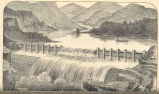 Bombay, Hindostan; Dam for the New Water Supply