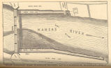 Lawrence, Kansas; Dam Across the Kansas Riverat Lawrence, Kansas.;;; Fig.1