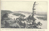 Mississippi RiverLooking Upstream from Queens Bluff, 10 Miles Below Homer, Minn. Sept 11, 1921