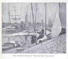 Fish and Oyster Boats in 'Vegetable Slip,; Galveston